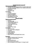 ESY and Annual IEP Checklist