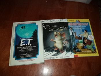ET  MOUSE CALLED WOLF  THIS CANT BE HAPP  (SET OF 3)