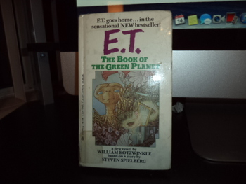 E.T. The Room of the Green Planet ISBN 0-425-07642-3