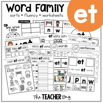 ET Word Family Activities