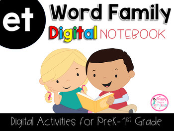 ET Word Family Digital Notebook