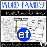 ET Word Family Instruction