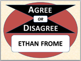 ETHAN FROME - Agree or Disagree Pre-reading Activity