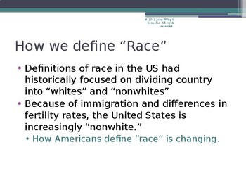ETHNICITY AND THE NATION-STATE PowerPoint