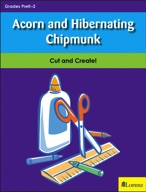 Acorn and Hibernating Chipmunk