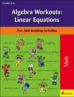 Algebra Workouts: Linear Equations