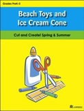 Beach Toys and Ice Cream Cone
