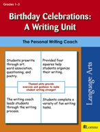 Birthday Celebrations: A Writing Unit