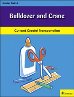 Bulldozer and Crane