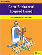 Coral Snake and Leopard Lizard