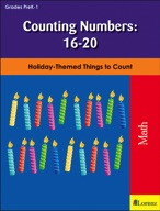Counting Numbers: 16-20