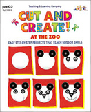 Cut and Create! At the Zoo (Enhanced eBook)
