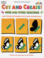 Cut and Create! Bugs and Other Creatures (Enhanced eBook)