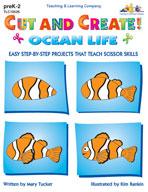 Cut and Create! Ocean Life (Enhanced eBook)