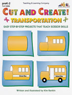 Cut and Create! Transportation (Enhanced eBook)