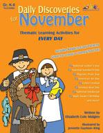 Daily Discoveries for November (Enhanced eBook)