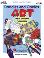 Doodles and Oodles of Art (Enhanced eBook)