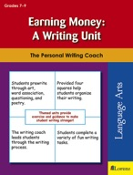 Earning Money: A Writing Unit