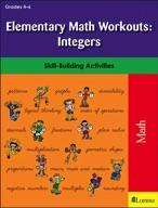 Elementary Math Workouts: Integers