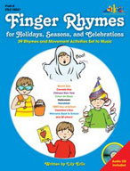 Finger Rhymes for Holidays, Seasons, and Celebrations (Enhanced eBook)