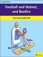 Football and Helmet, and Bonfire