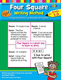 Four Square Writing Method Grades 1-3 [With Support Files] (Enhanced eBook)