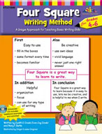 Four Square: Writing Method Grades 4-6 [with PowerPoint Files]
