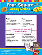 Four Square: Writing Method Grades 7-9 [with PowerPoint Files]