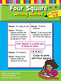 Four Square Writing Method for Grades 1-3