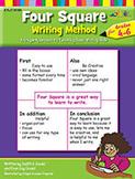 Four Square Writing Method for Grades 4-6