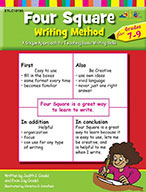 Four Square Writing Method for Grades 7-9 (Enhanced eBook)