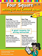 Four Square: Writing in the Content Areas for Grades 1-4 (Enhanced eBook)