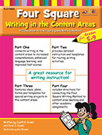 Four Square: Writing in the Content Areas for Grades 5-9 (Enhanced eBook)