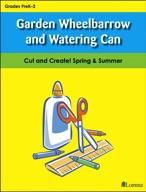 Garden Wheelbarrow and Watering Can