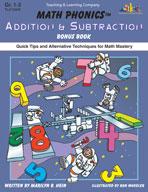 Math Phonics Addition & Subtraction Bonus Book