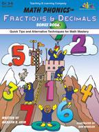 Math Phonics Fractions & Decimals Bonus Book