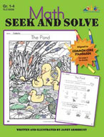 Math Seek and Solve (Enhanced eBook)