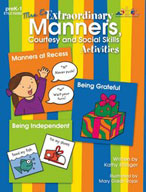 Mrs. E's Extraordinary Manners, Courtesy and Social Skills Activities (Enhanced eBook)