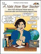 Note from Your Teacher (Enhanced eBook)