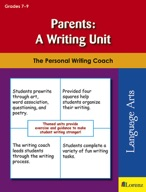 Parents: A Writing Unit