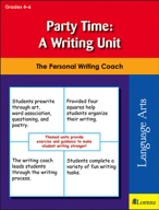 Party Time: A Writing Unit