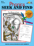 Phonics Seek and Find