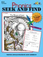 Phonics Seek and Find (Enhanced eBook)