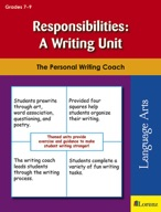 Responsibilities: A Writing Unit