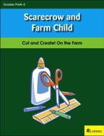 Scarecrow and Farm Child