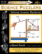 Science Action Labs Science Puzzlers (Enhanced eBook)