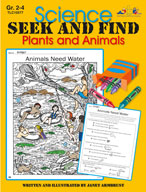 Science Seek and Find Plants and Animals (Enhanced eBook)