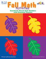 Seasonal Math Activities - Fall