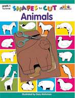 Shapes to Cut: Animals (Enhanced eBook)