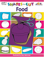 Shapes to Cut: Food (Enhanced eBook)